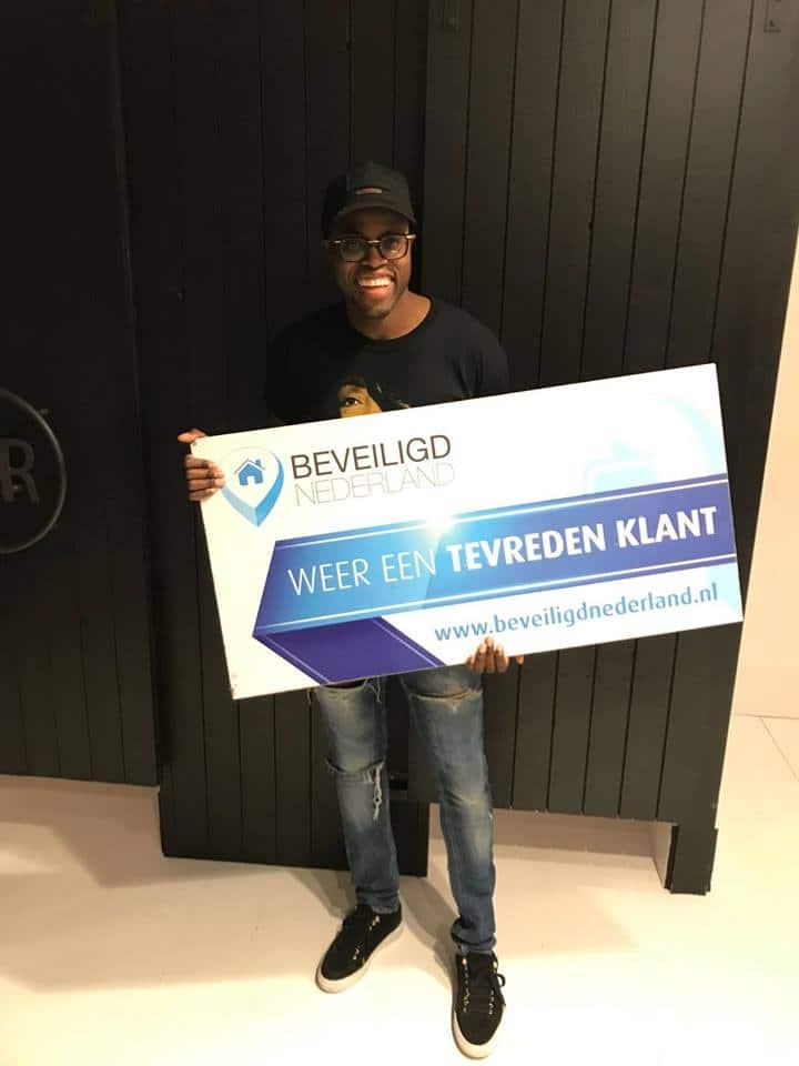 Jandino - tevreden klanten beveiligd nederland