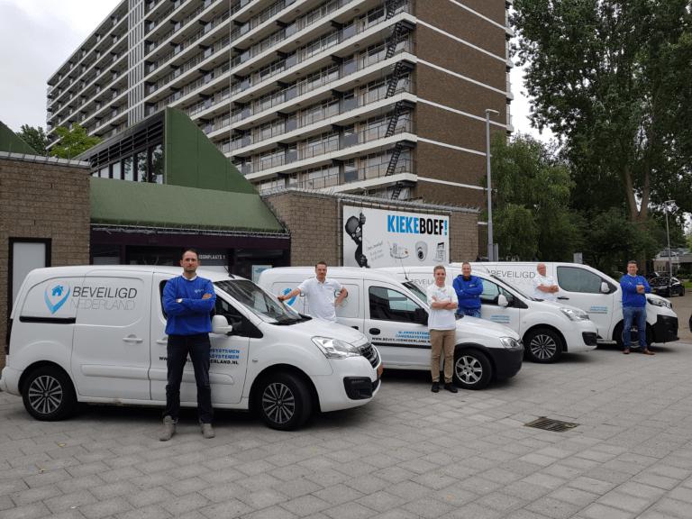 personeel beveiligd nederland
