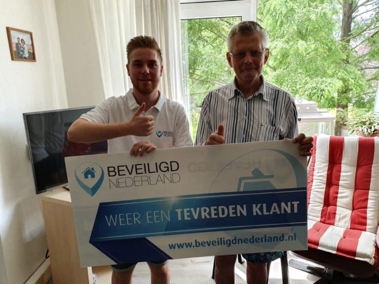 Tevreden Beveiligd Nederlander Beveiligd Nederland