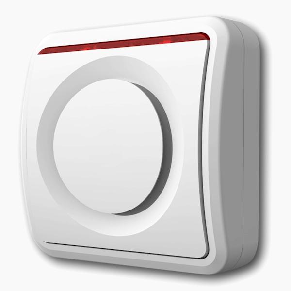 Binnensirene DeLuxe alarmsysteem Beveiligd Nederland