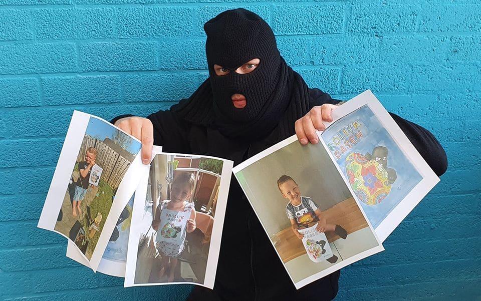 Kiekeboef beveiligd nederland - pasen kleurwedstrijd