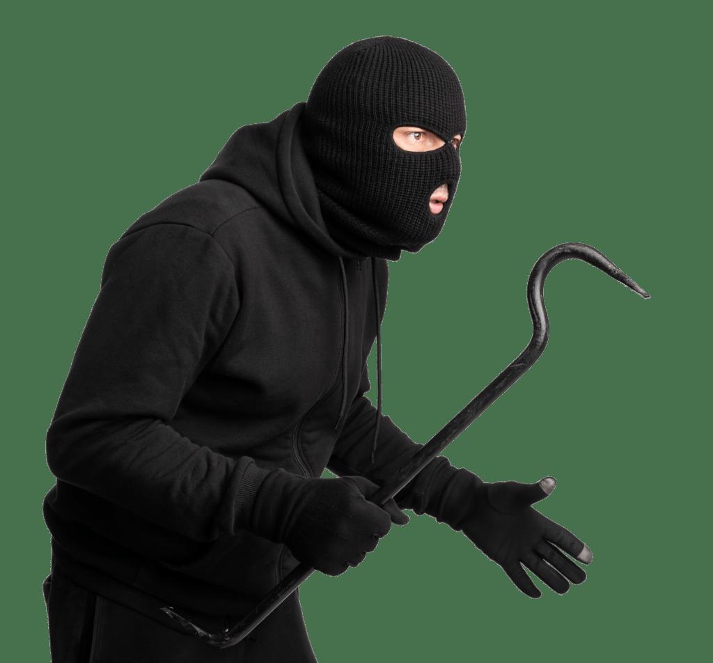 Inbreker beveiligd nederland