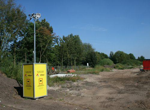 cameramast beveiligd nederland