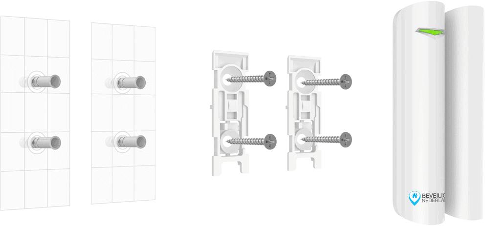 comfort magneetcontact Beveiligd Nederland