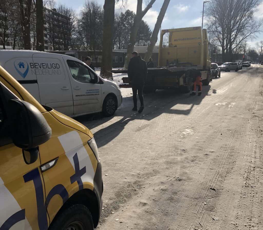 Autopech -Bedrijfsauto wegenwacht Beveiligd Nederland