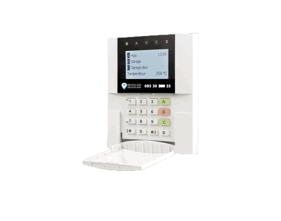 Alarmsysteem Comfort codebedienpaneel Beveiligd Nederland